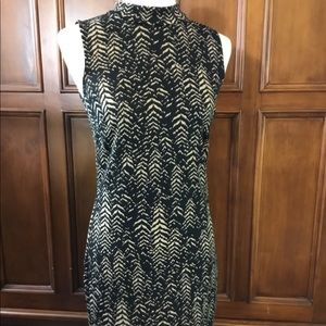 Vince Camuto fitted sheath dress, animal print, XS